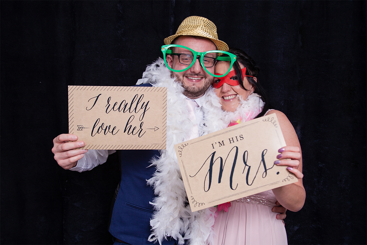 Worcester Wedding Photo Booth