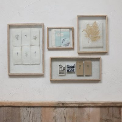 Wooden wall frames