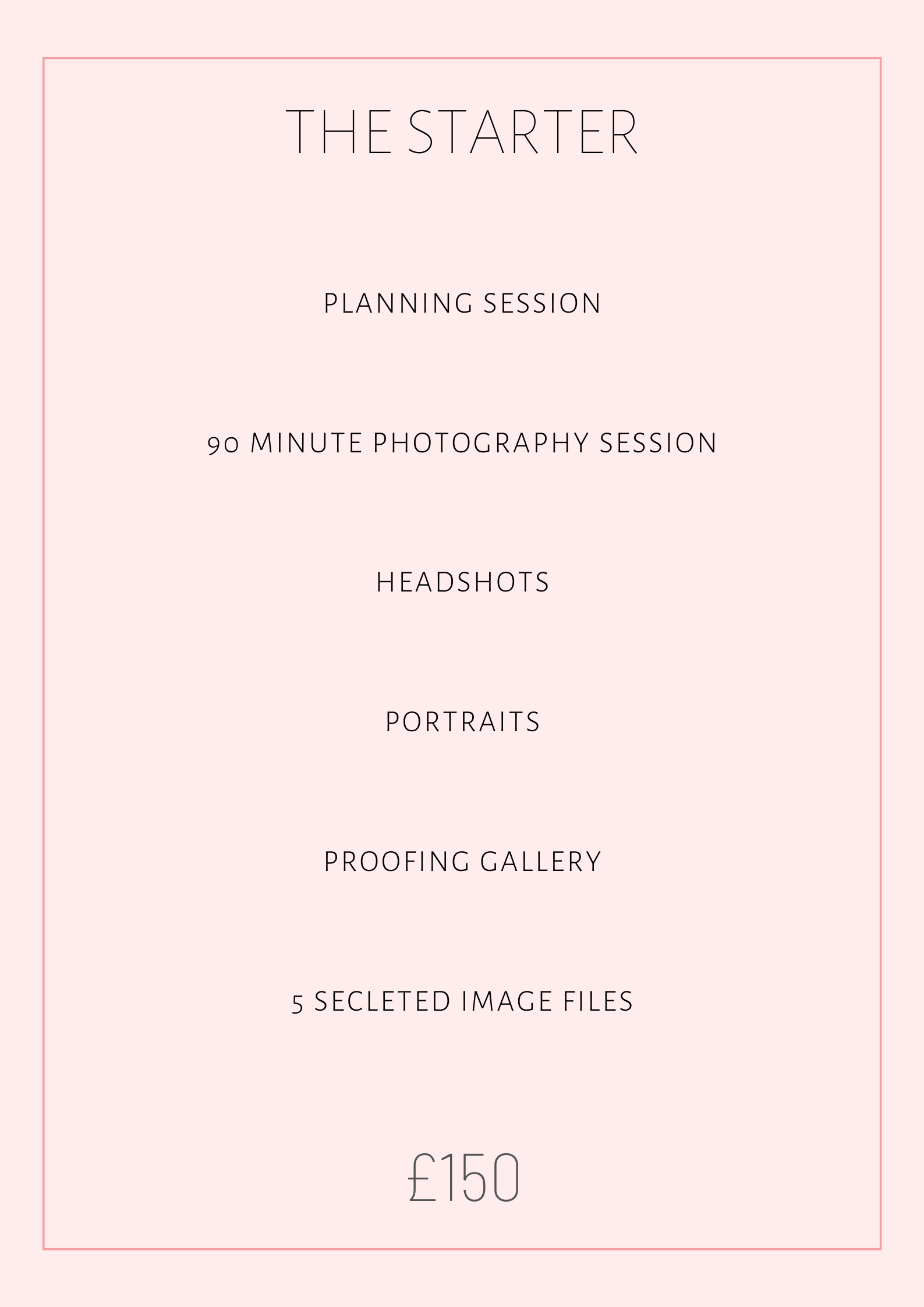 Brandin Photography Package