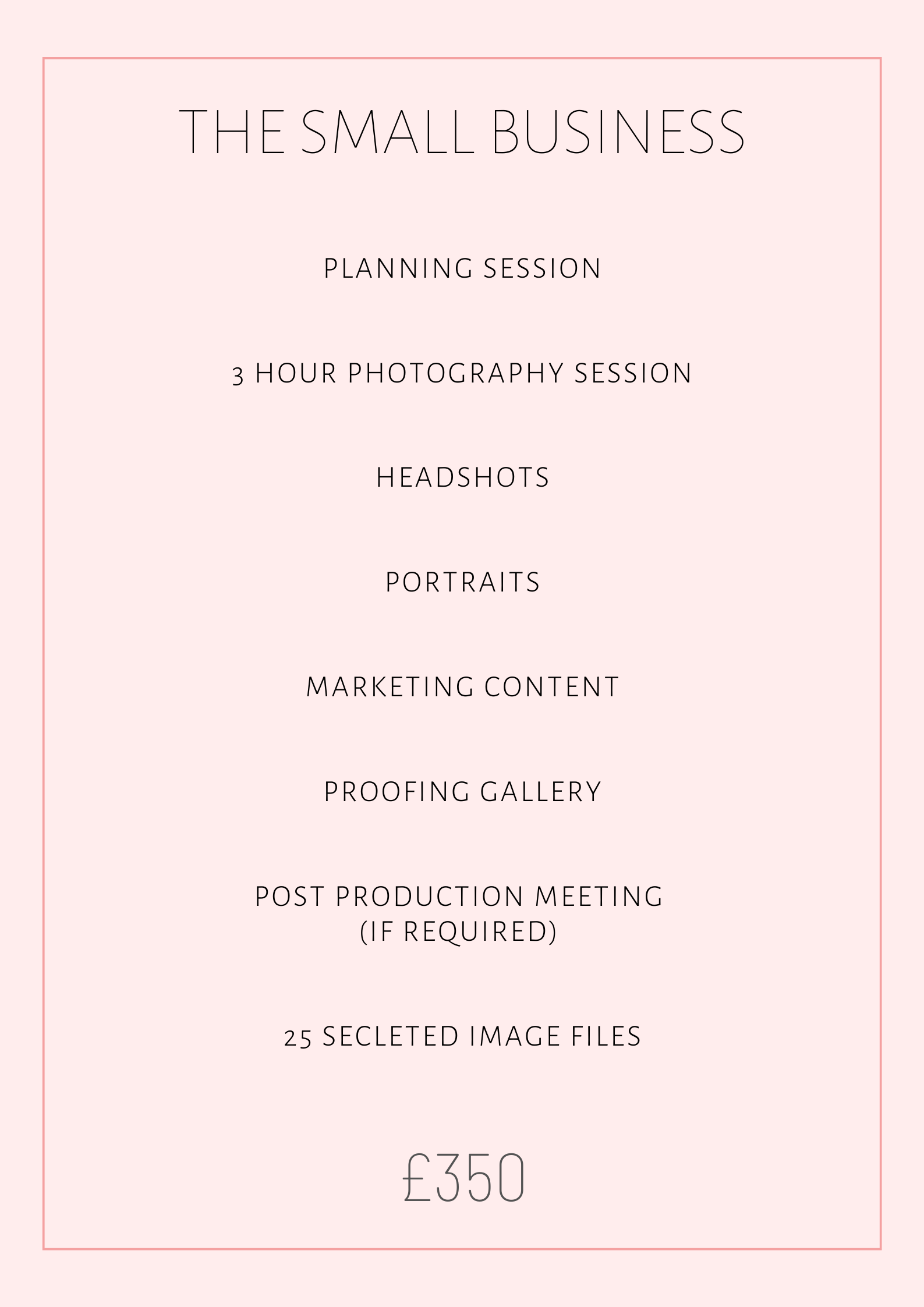 Brand Photography Package 2