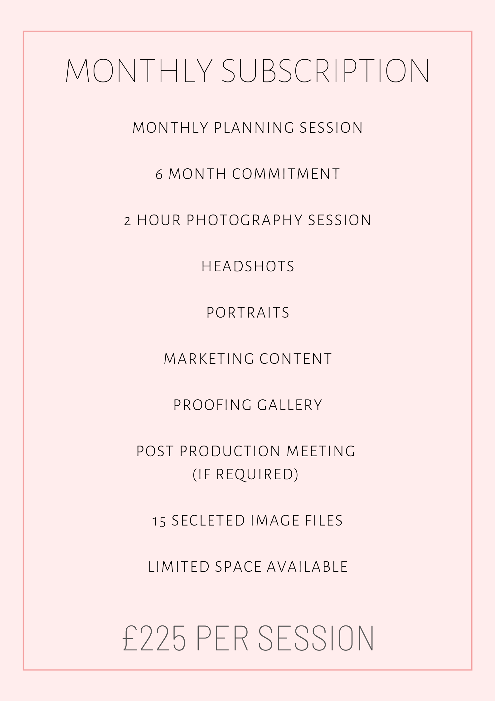Brand Photography Package 3