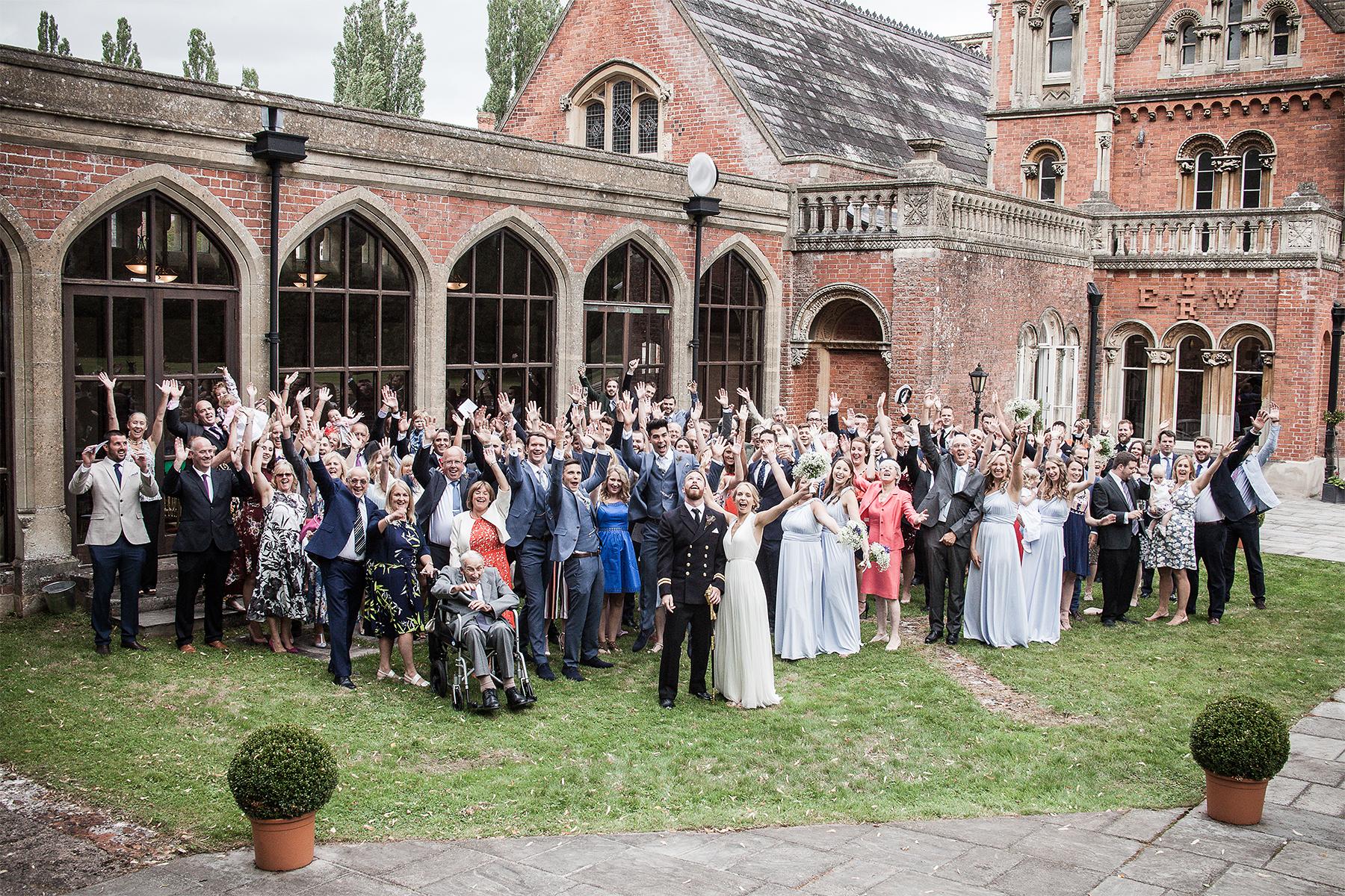 Rolls of Monmouth Wedding